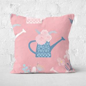 Watering Can Square Cushion