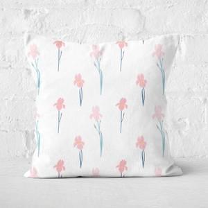 Single Flowers Square Cushion