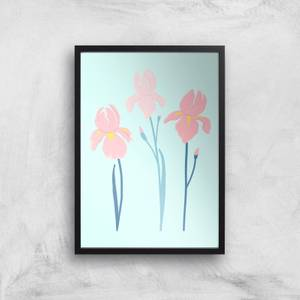 Trio Flower Giclée Art Print