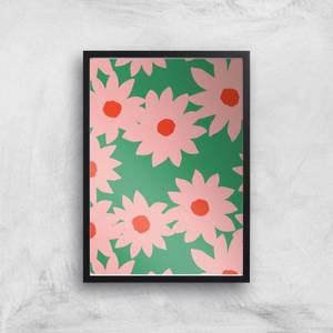 Loud Flower Print Giclée Art Print
