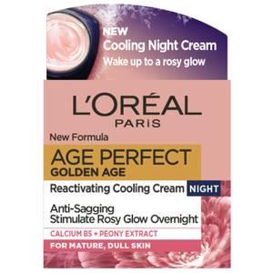 L'Oréal Paris Age Perfect Golden Age Night Cream Moisturiser 50ml