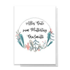 Alles Gute Zum Muttertag Gra?mutti Greetings Card