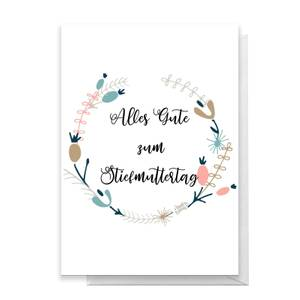 Alles Gute Zum Stiefmuttertag Greetings Card