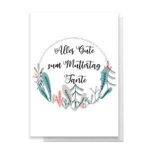 Alles Gute Zum Muttertag Tante Greetings Card