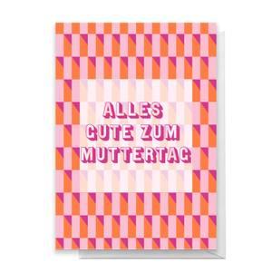 Alles Gut Zum Muttertag Greetings Card