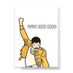 Mama Oooo-oooh! Greetings Card