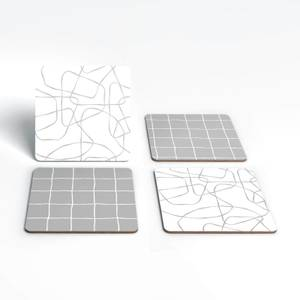 Squiggles And Squares Coaster Set