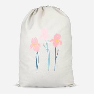 Trio Flower Cotton Storage Bag