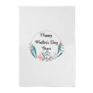 Happy Mother's Day Gran Cotton Tea Towel
