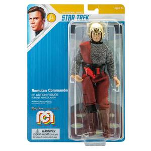 Mego Star Trek - Romulan Commander 8 Inch Action Figure