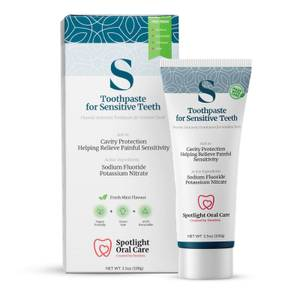 Spotlight Oral Care Toothpaste for Sensitive Teeth