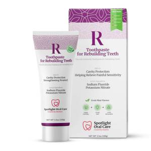 Spotlight Oral Care Toothpaste for Rebuilding Teeth