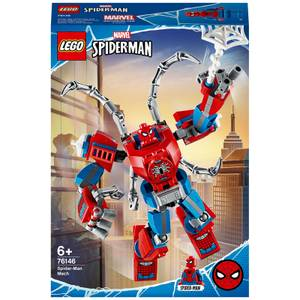 LEGO Super Heroes: Marvel Spider-Man Mech Building Set (76146)