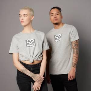Borderlands 3 Skull Unisex T-Shirt - Grau
