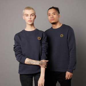 Borderlands 3 Vault Unisex EmbroideRot Sweatshirt - Navy Blau