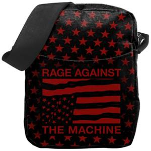 Rocksax Rage Against the Machine USA Stars Cross Body Bag