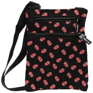 Rocksax The Rolling Stones Classic All-Over Tongue Shoulder Bag