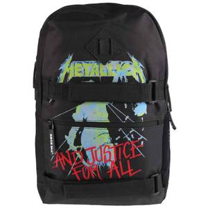 Rocksax Metallica and Justice for all Skate Bag