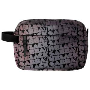 Rocksax Black Sabbath Distress Cross Wash Bag