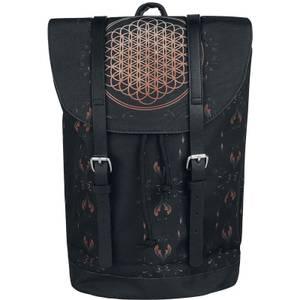 Rocksax Bring Me the Horizon Flower of Life Heritage Bag