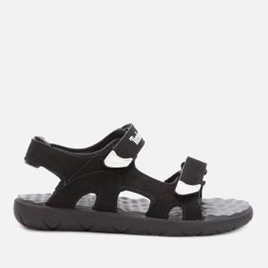 Timberland Kids' Perkins Row 2-Strap Sandals - Black