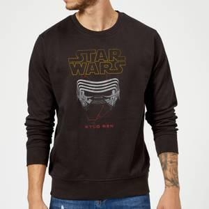 Star Wars Kylo Helmet Sweatshirt - Black