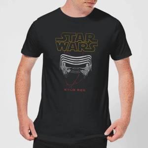 Star Wars Kylo Helmet Men's T-Shirt - Black