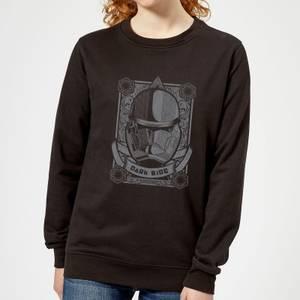 Star Wars Darkside Trooper Women's Sweatshirt - Black