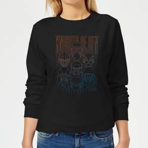Star Wars Knights Of Ren Women's Sweatshirt - Black