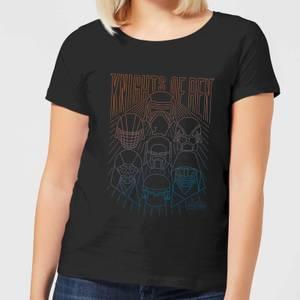 Star Wars Knights Of Ren Women's T-Shirt - Black