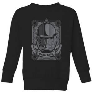 Star Wars Darkside Trooper Kids' Sweatshirt - Black