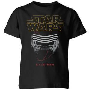 Star Wars Kylo Helmet Kids' T-Shirt - Black