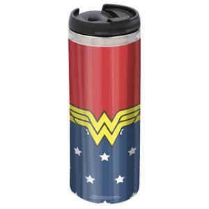 Wonder Woman Stainless Steel Thermo Travel Mug