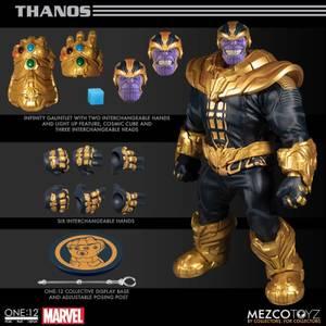 Mezco One:12 Collective Marvel Comics Thanos Figure