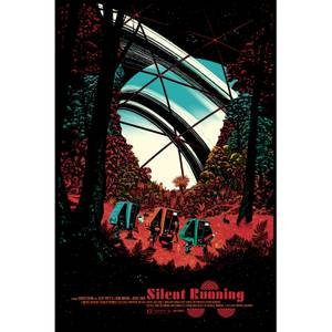 Silent Running Screenprint Art by Raid71