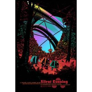 Silent Running Foil Variant Screenprint Art by Raid71