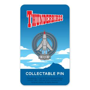 Thunderbirds-Emaille-Anstecker 1