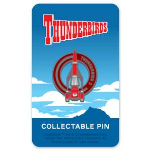 Thunderbirds Enamel Pin Badge 3