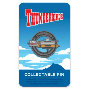 Thunderbirds Emaille-Anstecker 5