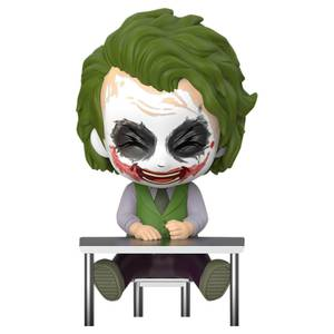 Hot Toys Batman: Dark Knight Trilogy Cosbaby Mini Figure Joker (Laughing Version) 12cm