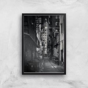 Dark Alleyway Giclee Art Print