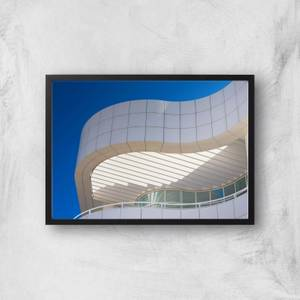 Abstract Architecture Giclee Art Print