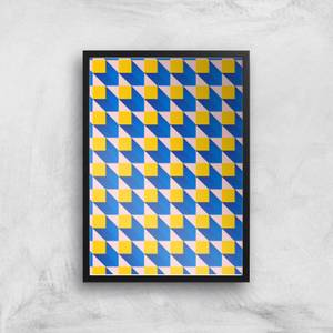 Lost In Cubes Giclee Art Print