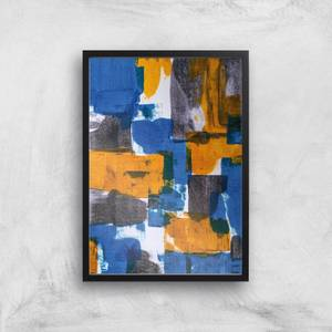 Citrus On Canvas Giclee Art Print