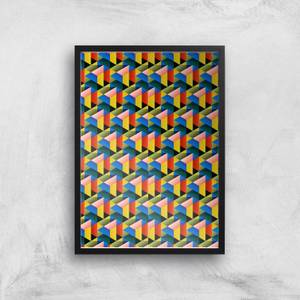 Fill The World With Colour Giclee Art Print