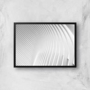 Symmetrical Lines Giclee Art Print