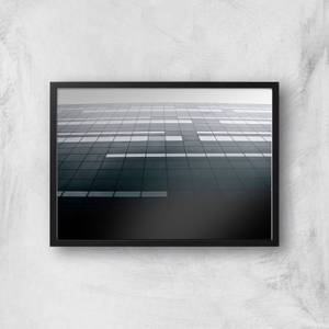 Square Windows Giclee Art Print