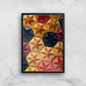 Abstract Umbrellas Giclee Art Print