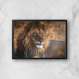 King Of The Savanna Giclee Art Print