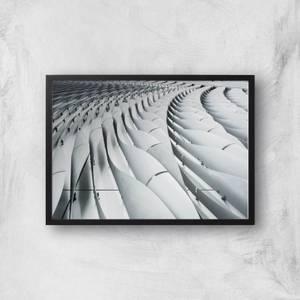 Industrial Waves Giclee Art Print